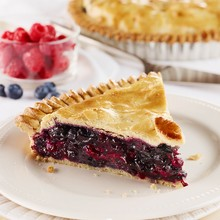 Justyne's Blueberry-Raspberry Pie