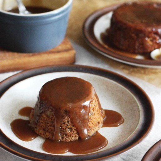 Sticky Maple Toffee Date Cakes
