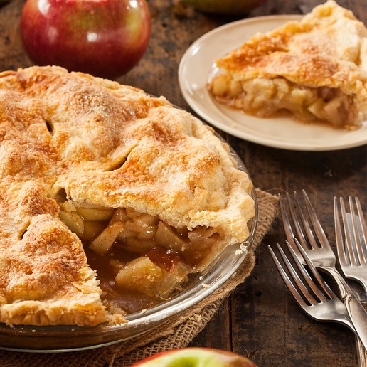 Old Fashioned Deep Dish Apple Pie