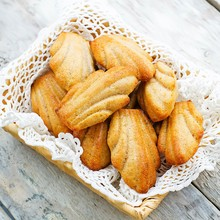Corn & Chives Madeleines
