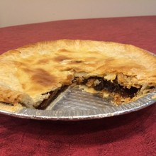 Family Favourite Raisin Pie
