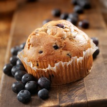 Stevia-Sweet Blueberry Muffins