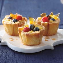 Lemon Custard Tartlets