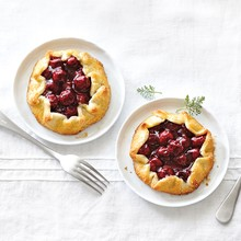 Sour Cherry Mini-Galettes
