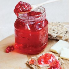 Pomegranate Apple Cider Jelly