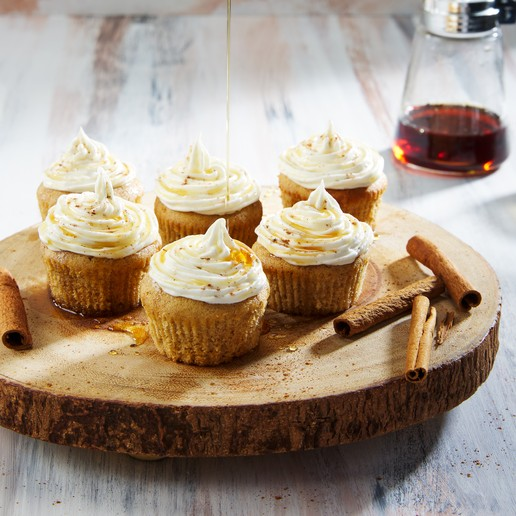 Maple Brown Butter Cupcakes